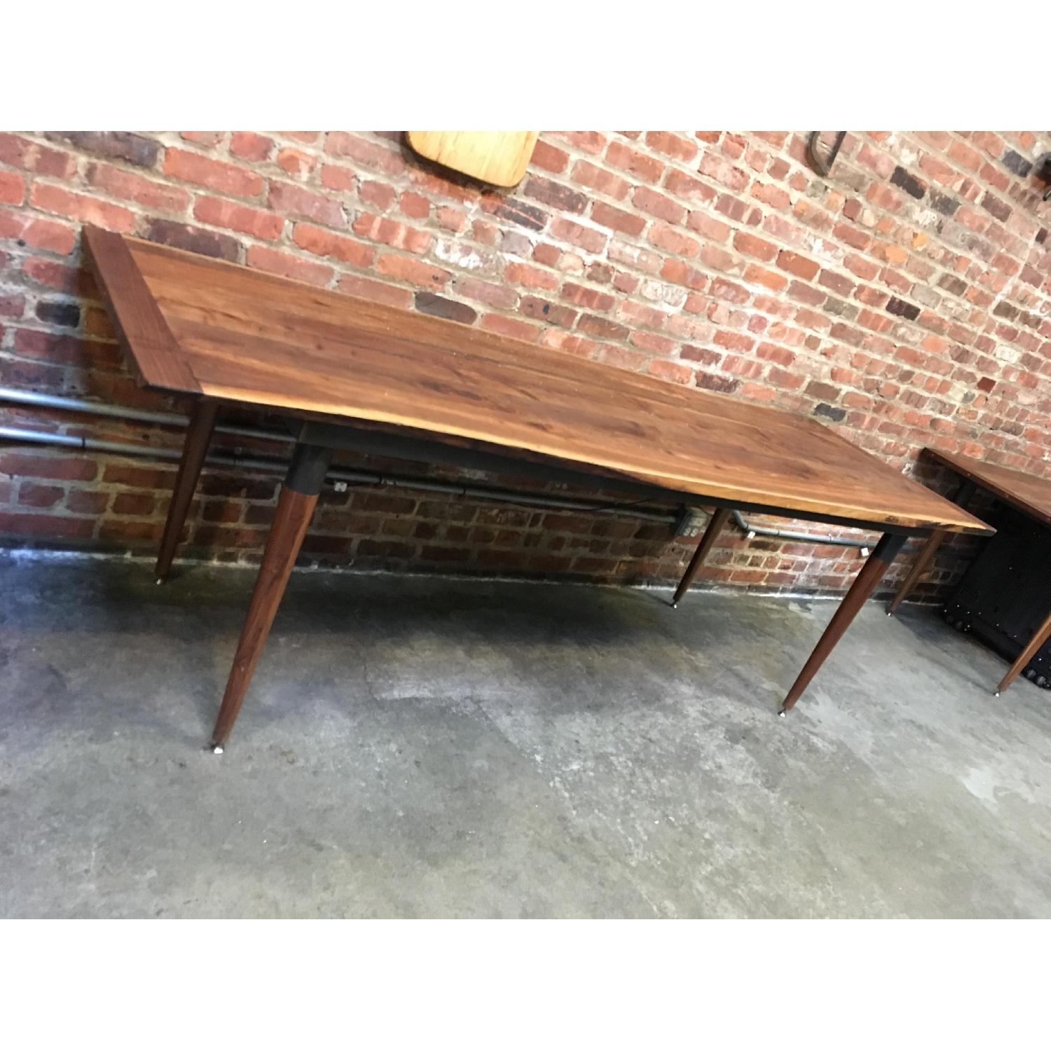 Custom Made Live Edge Walnut Dining Conference Table-0