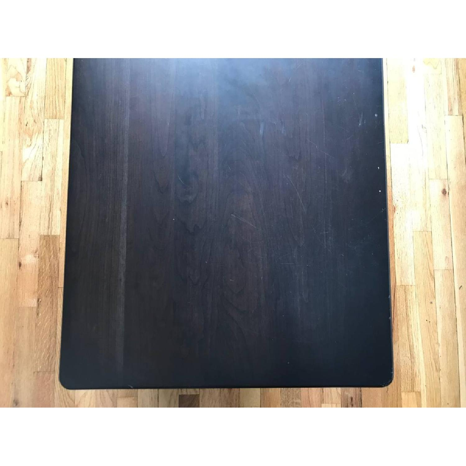 Room & Board Dark Brown Wood Coffee Table-3