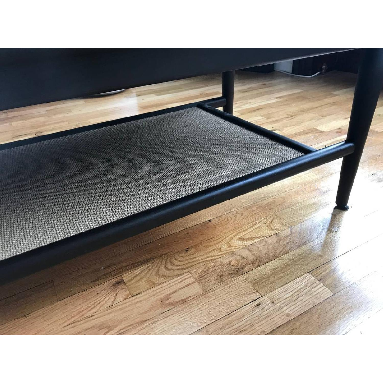 Room & Board Dark Brown Wood Coffee Table-5