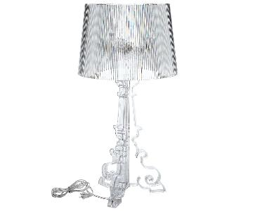 Kartell Bourgie Lamp in Crystal Clear
