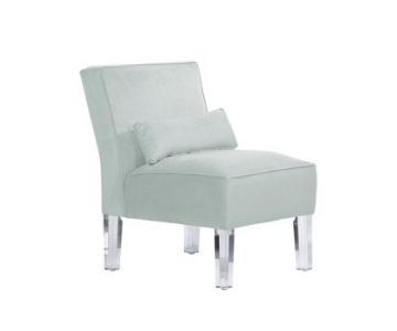 SF Designs Velvet Pool Accent Chair