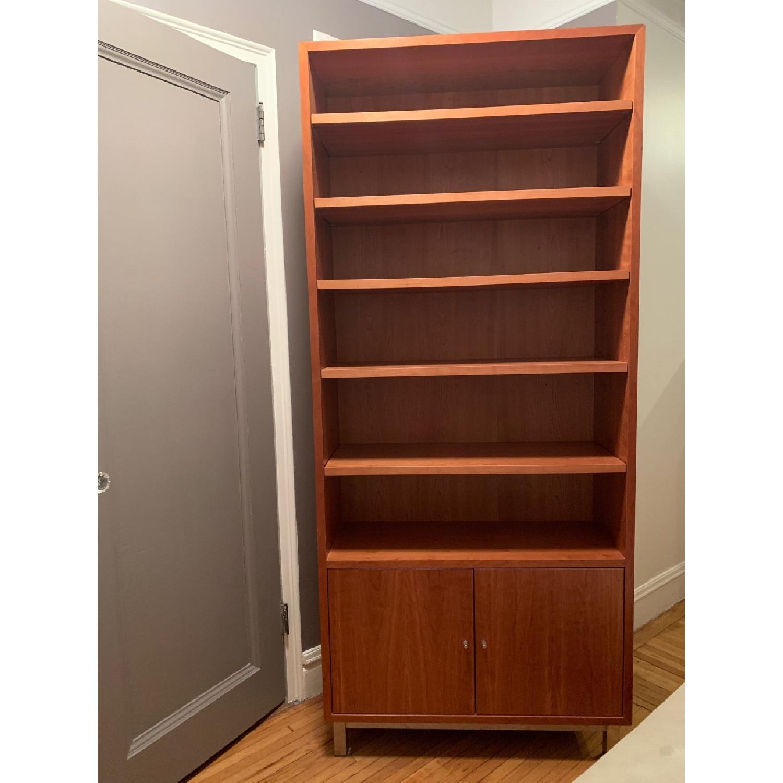 Room & Board Copenhagen Modern Bookcase w/ Doors-1