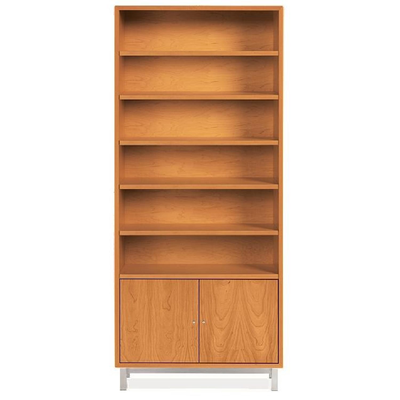Room & Board Copenhagen Modern Bookcase w/ Doors