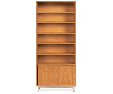 Room & Board Copenhagen Modern Bookcase w/ Doors