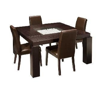Raymour & Flanigan Cortland 5 Piece Dining Set