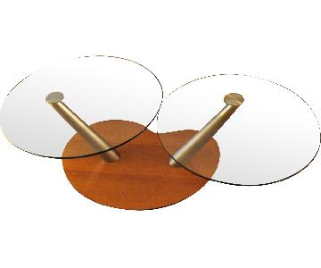 Design Within Reach Rosie Round Contemporary Coffee Table