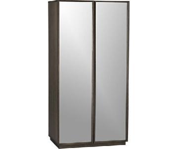 CB2 Mirror Wardrobe/Armoire
