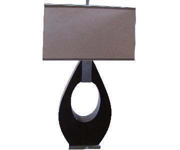 Asymmetrical Modern Lamp