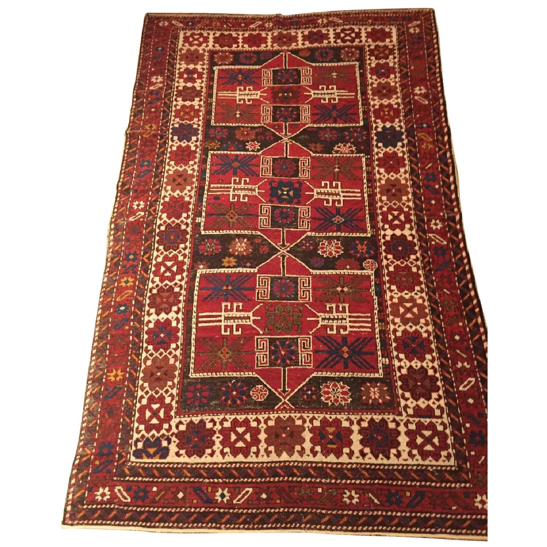 Antique Shirvan Causasus Wool Rug