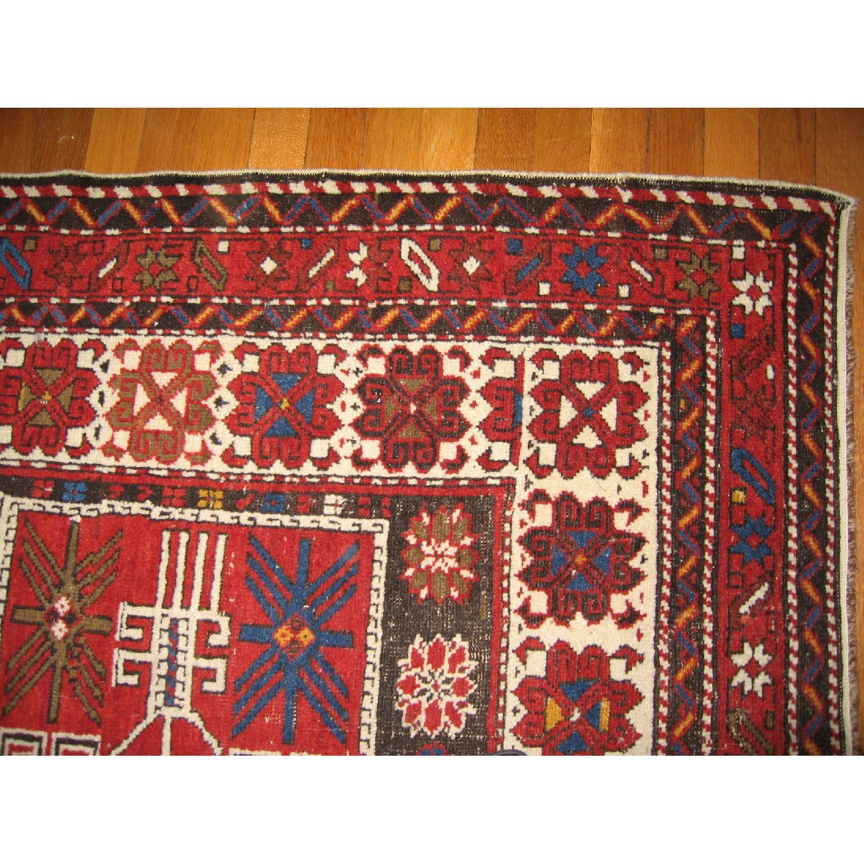 Antique Shirvan Causasus Wool Rug-0