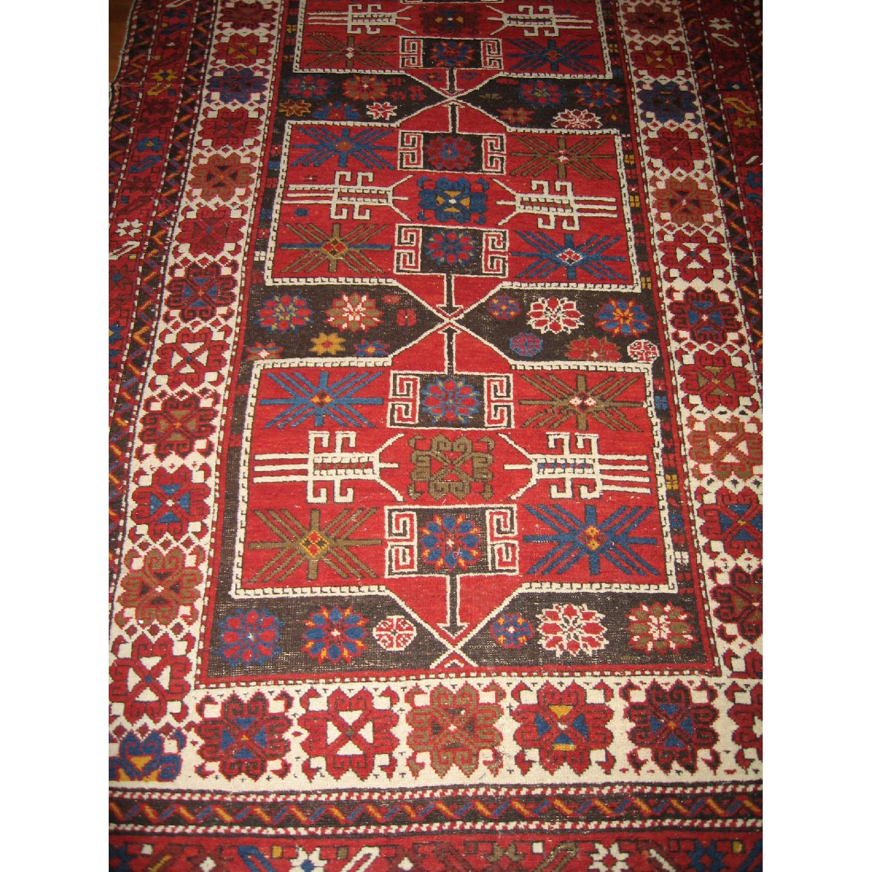 Antique Shirvan Causasus Wool Rug-1
