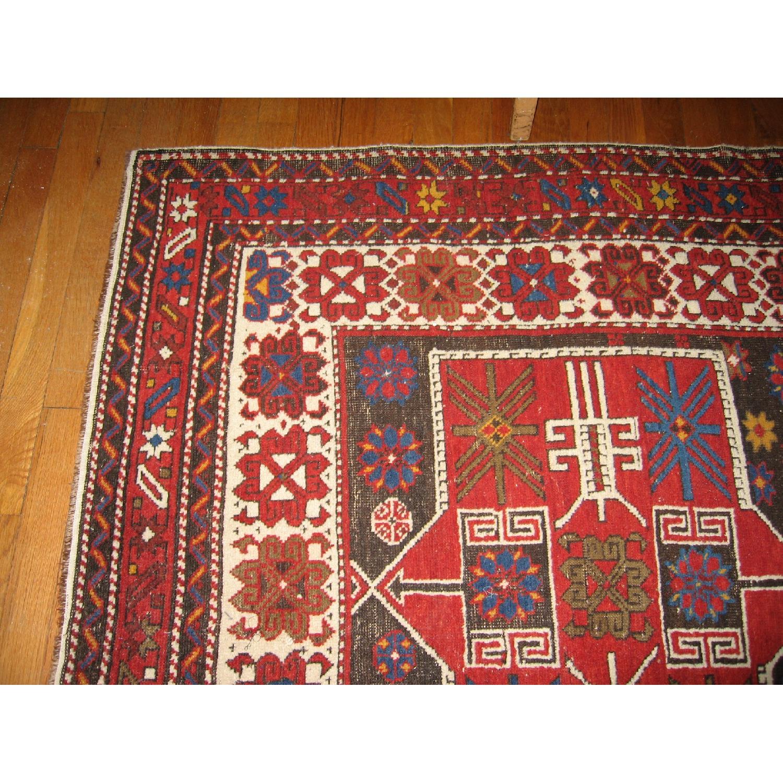 Antique Shirvan Causasus Wool Rug-2