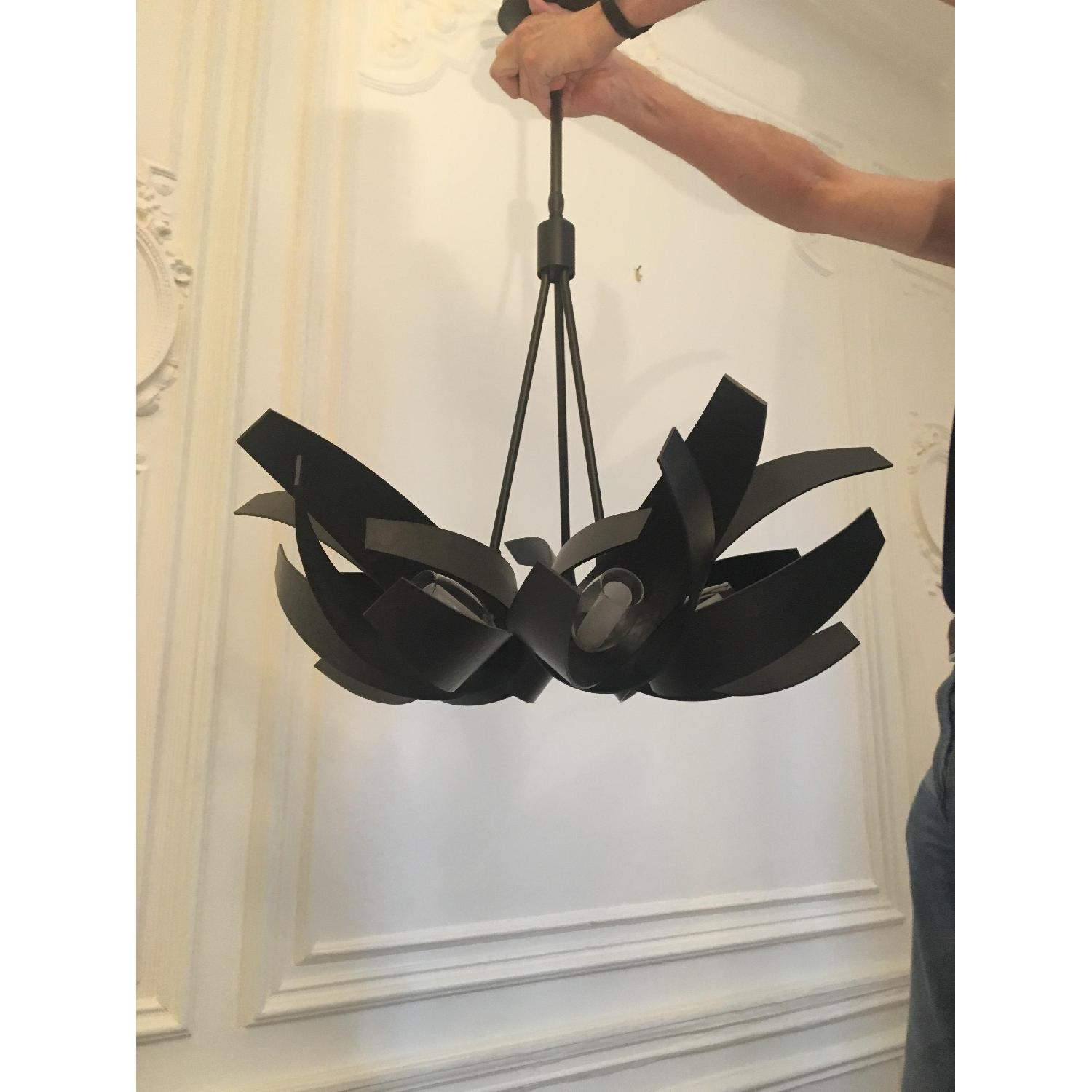 Hubbardton Forge Handcrafted Forged Steel Chandelier-1