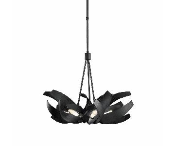 Hubbardton Forge Handcrafted Forged Steel Chandelier