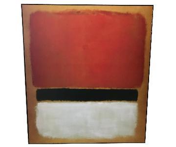 Rothko Framed Print