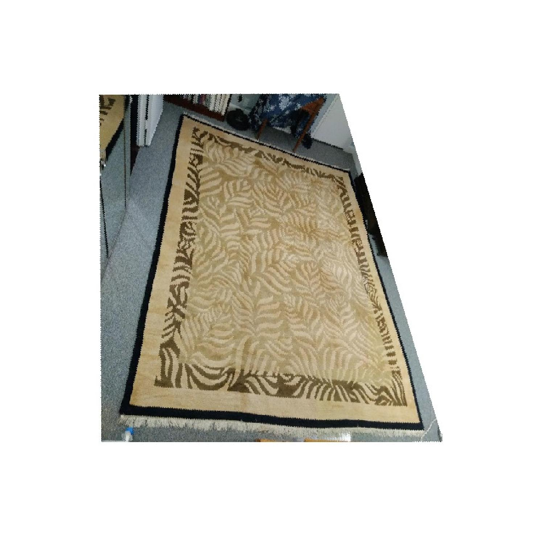 Odegard Carpets Handmade Himalayan Wool Rug-2