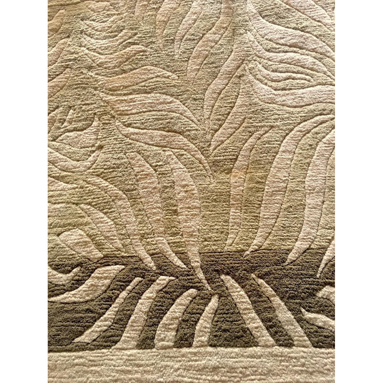 Odegard Carpets Handmade Himalayan Wool Rug-3