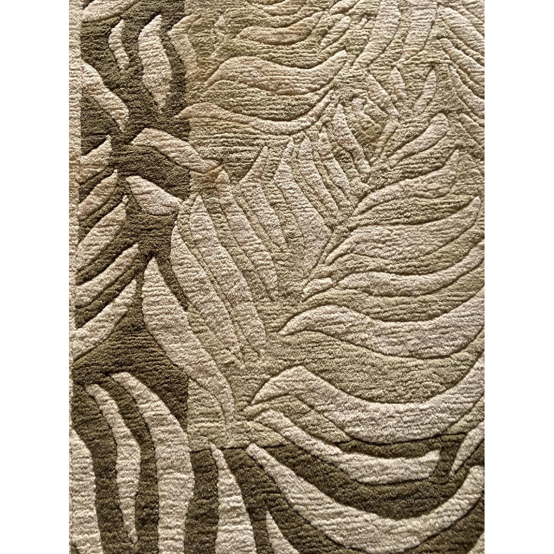 Odegard Carpets Handmade Himalayan Wool Rug-4