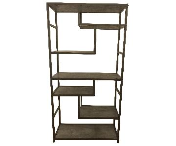 Dark Grey Shelving Units