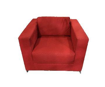 Wool Custom Made Armchair
