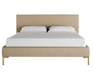 Lulu & Georgia Deva Platform King Bed in Natural