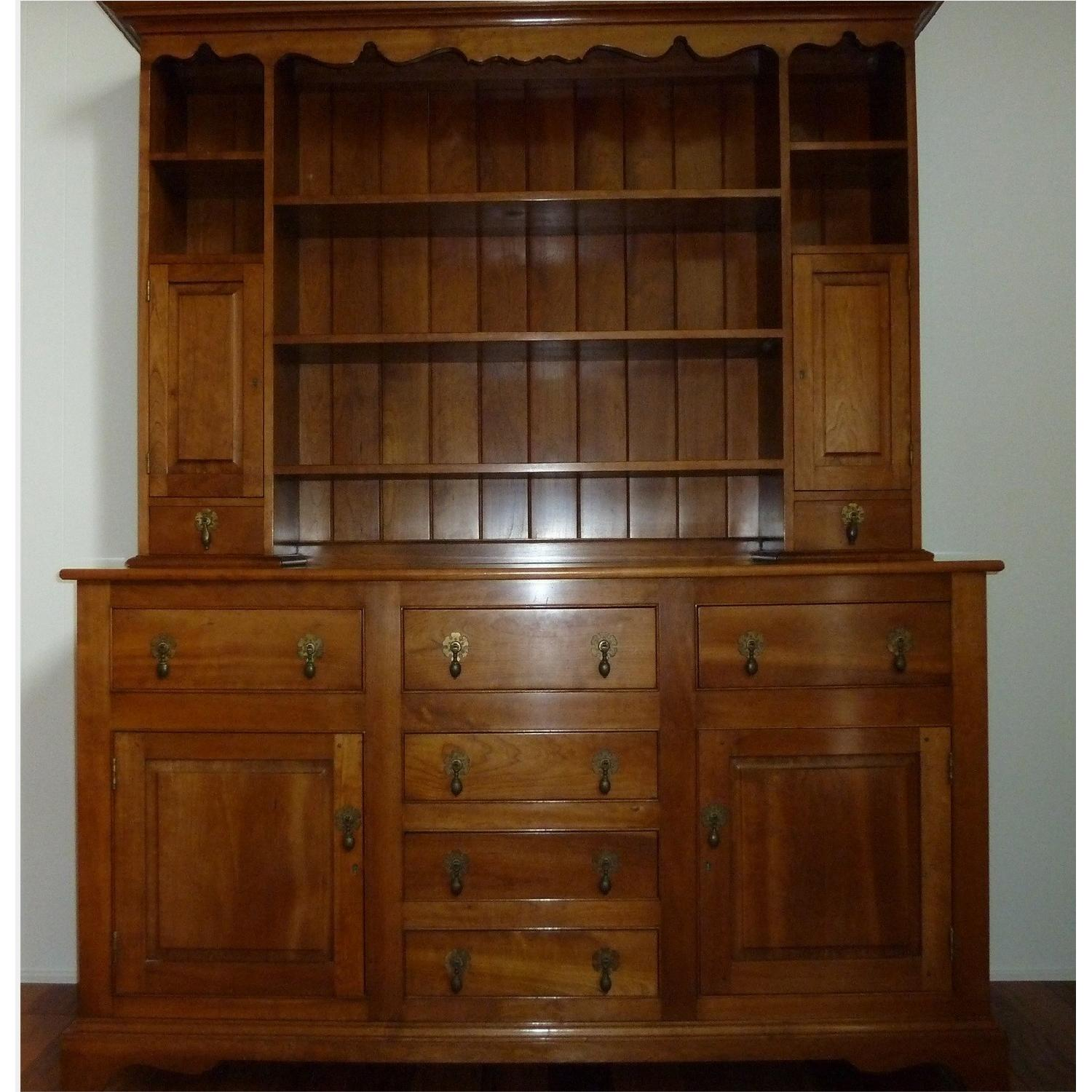 Stickley Solid Cherry Hutch