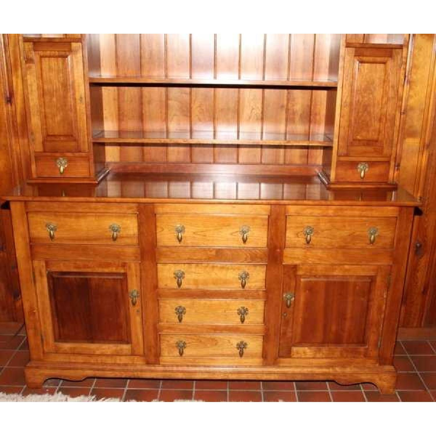 Stickley Solid Cherry Hutch 0