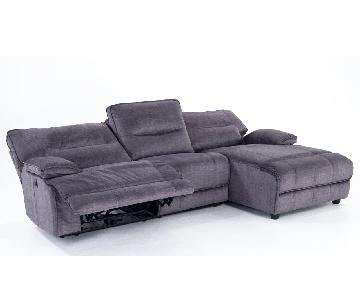 Bob's Pacifica Power Recliner Sectional Sofa