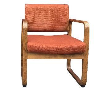 Vintage Mid Century Bent Wood Chairs