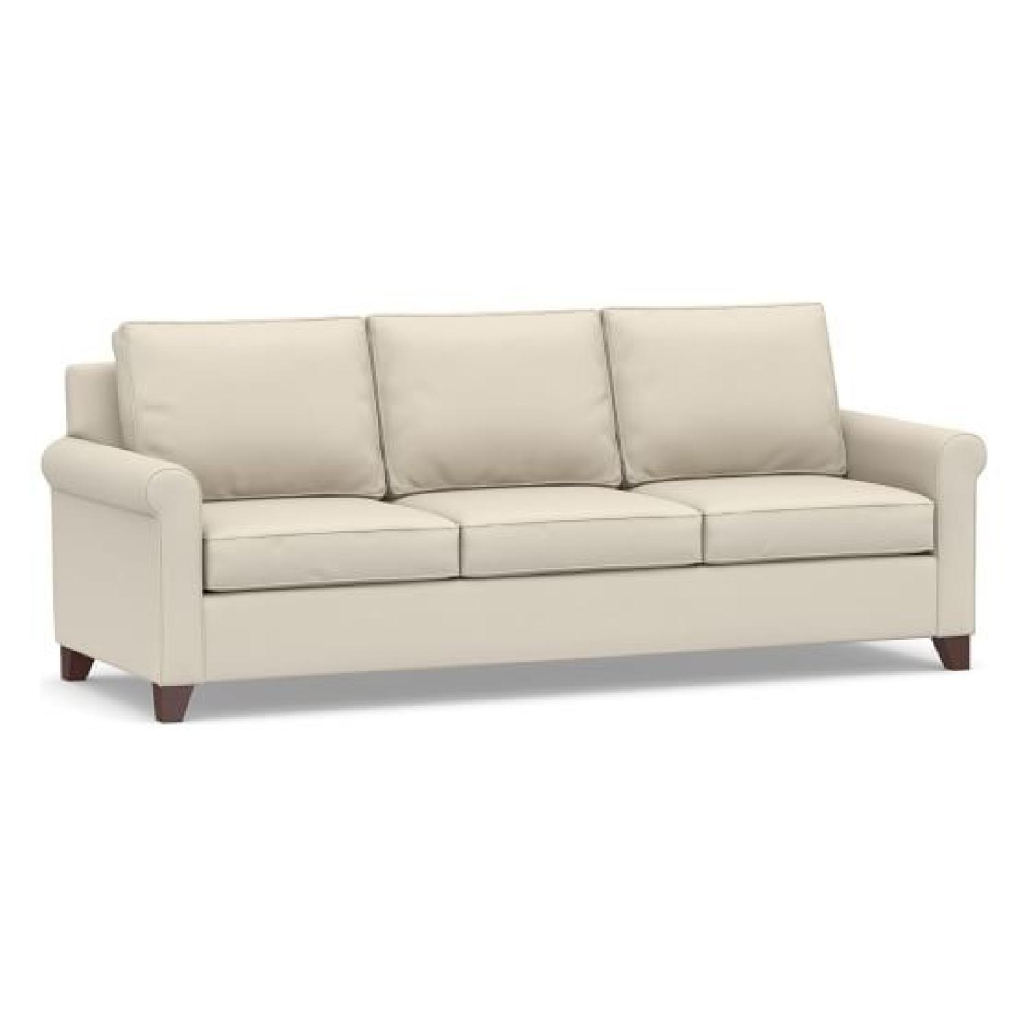 Pottery Barn Cameron Roll Arm Sofa