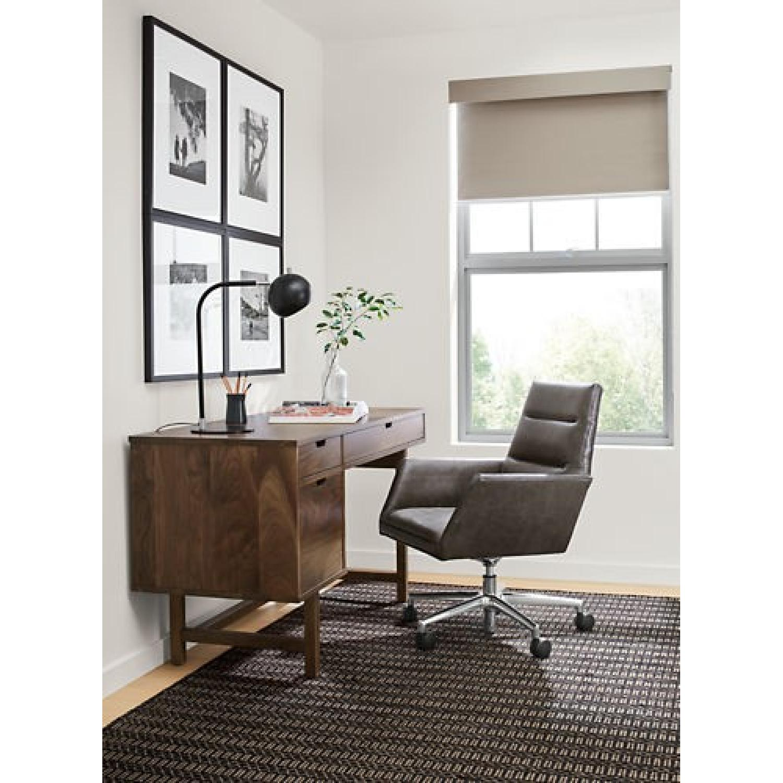 Room & Board Walnut Desk-0