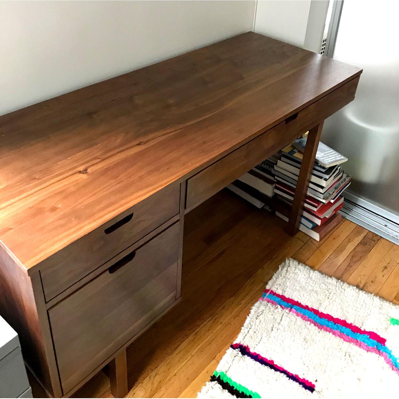 Room & Board Walnut Desk-1