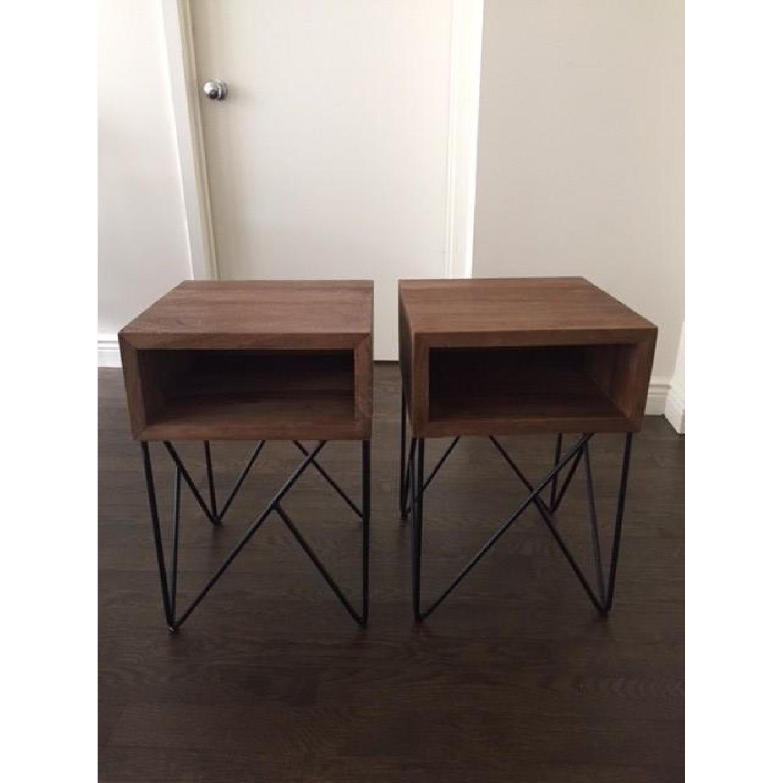 Crate & Barrel Dixon Side Tables-0