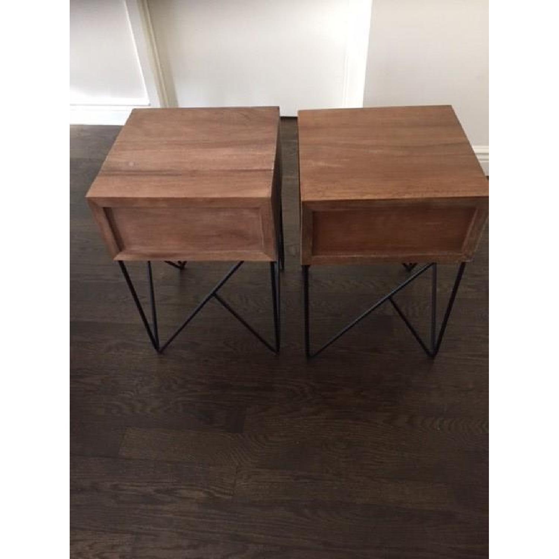 Crate & Barrel Dixon Side Tables-1
