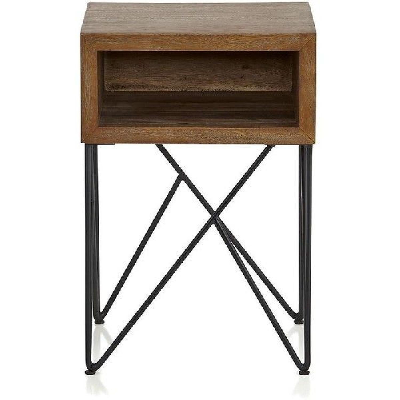 Crate & Barrel Dixon Side Tables