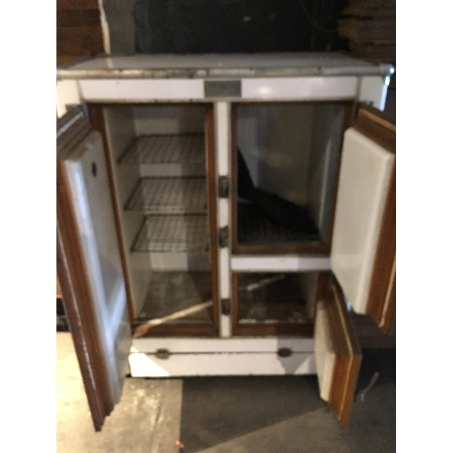 1920s R. H. Macy & Co Ice Box Chest Storage Cabinet-4