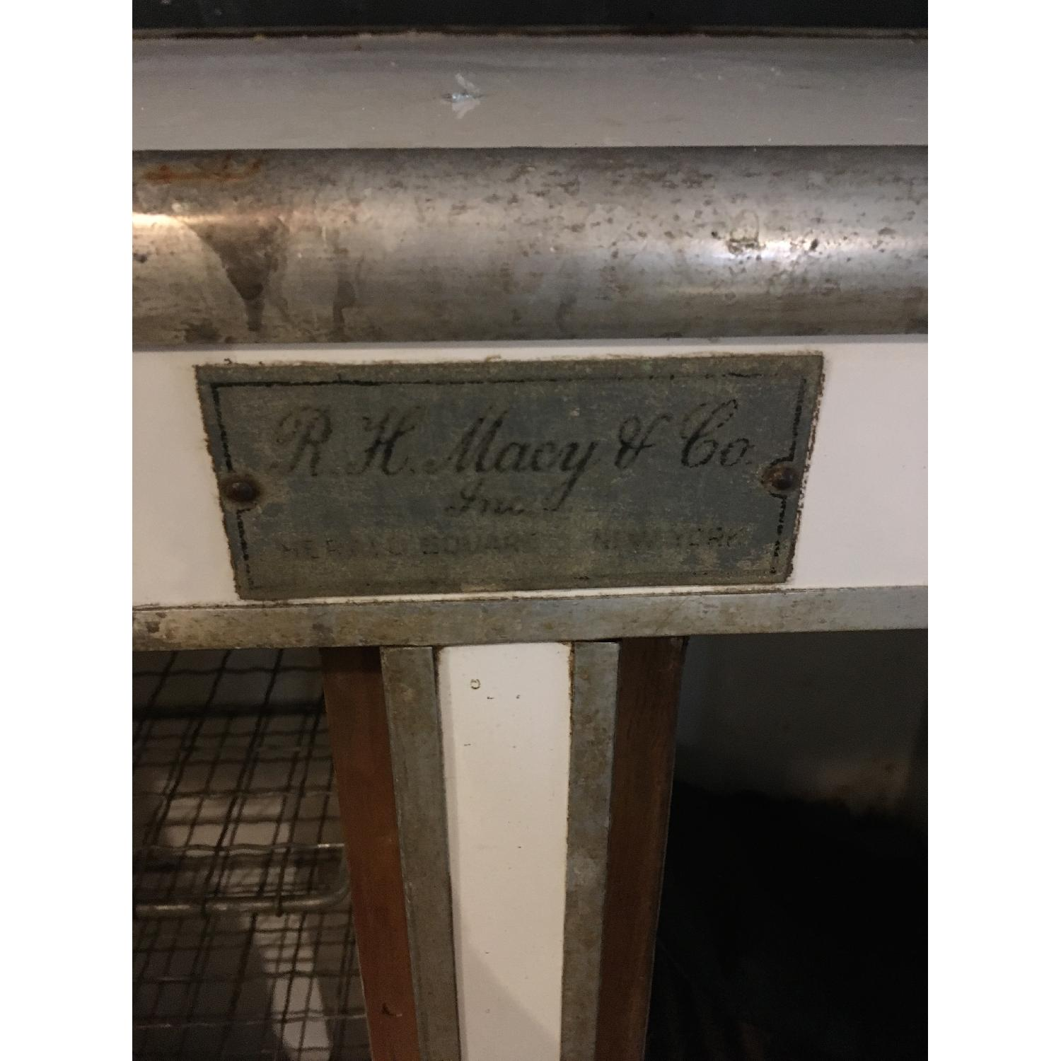1920s R. H. Macy & Co Ice Box Chest Storage Cabinet-6