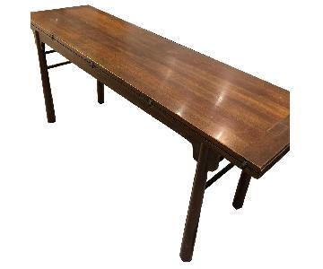 Antique Sofa/Console Table