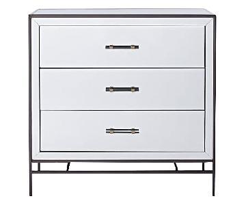 West Elm Mirrored 3-Drawer Dresser