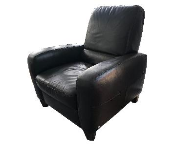 Macy's Leather Lounge Recliner