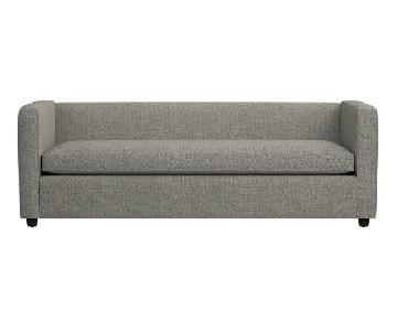 CB2 Movie Sofa in Salt & Pepper