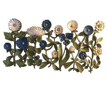 Mid-Century 60s/70s Sculptural Flower Art