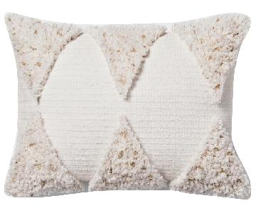 Target Opalhouse Cream Fringe Pillows