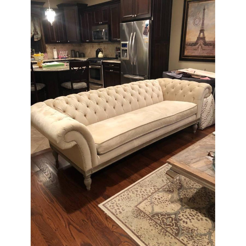 Bernhardt Chesterfield Tufted Sofa & Chair-0