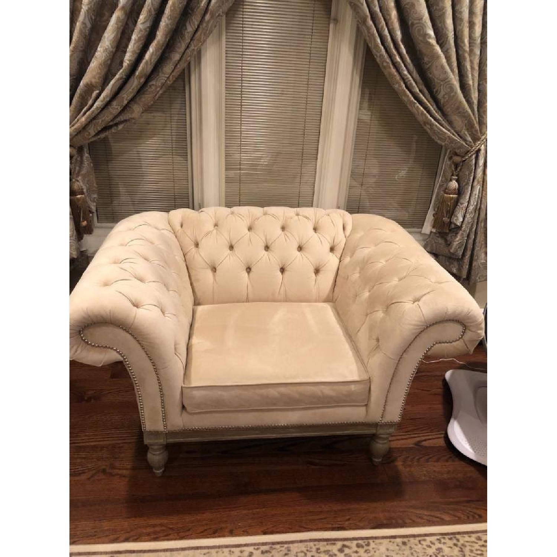 Bernhardt Chesterfield Tufted Sofa & Chair-3