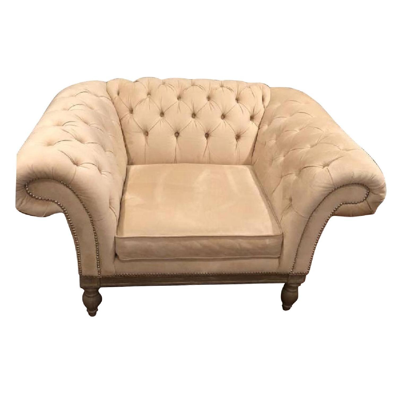 Bernhardt Chesterfield Tufted Sofa & Chair-6