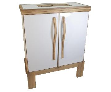 Space Age Viking Cabinet