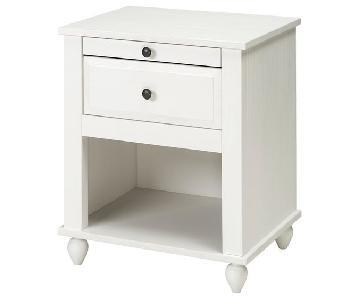 Ikea Hornsund White Nightstands