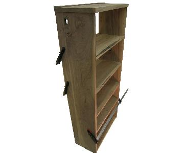 Solid Walnut Bookcase