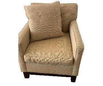 Mitchell Gold + Bob Williams Club Chairs w/ Custom Fabric